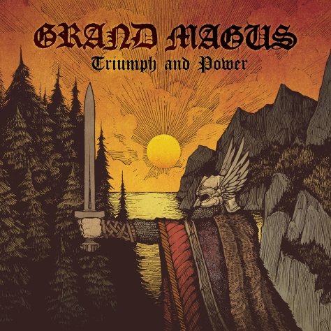 Grand Magus - Triumph And Power - Artwork