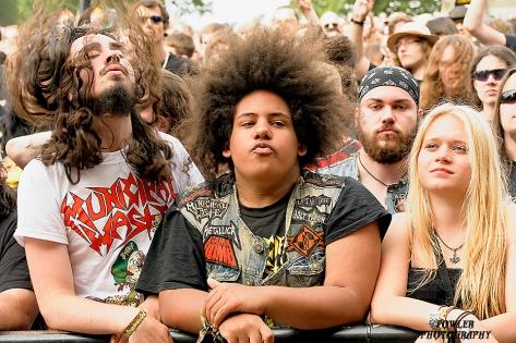 Fan of the day; Heavy Metal Buckwheat