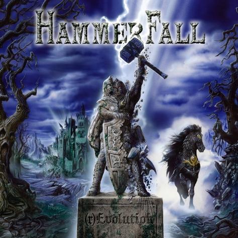 Hammerfall - (r)Evolution - Artwork
