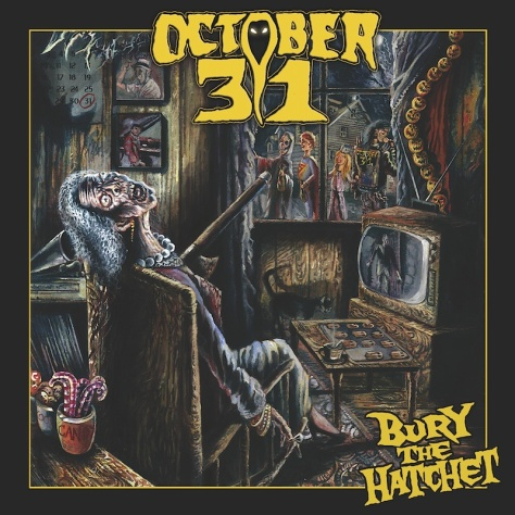 october 31 - bury the hatchet cover