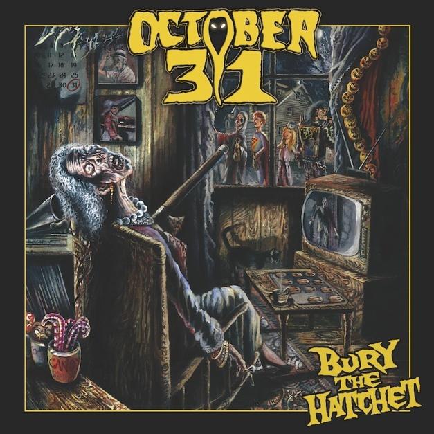 october 31 - bury the hatchet cover