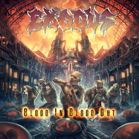 Exodus - Blood In, Blood Out - Artwork