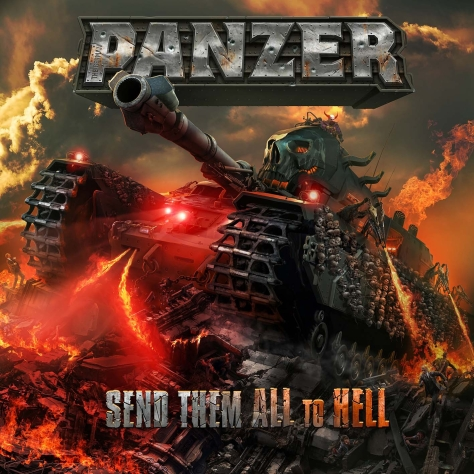The German PANZER - Send Them All To Hell - Artwork