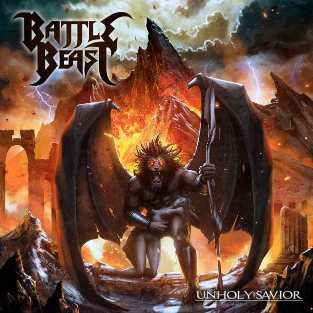 Battle Beast - Unholy Savior - Artwork