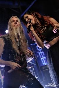 Delain with Marco Hietala of Nightwish