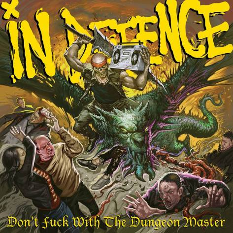 IN DEFENCE - cover