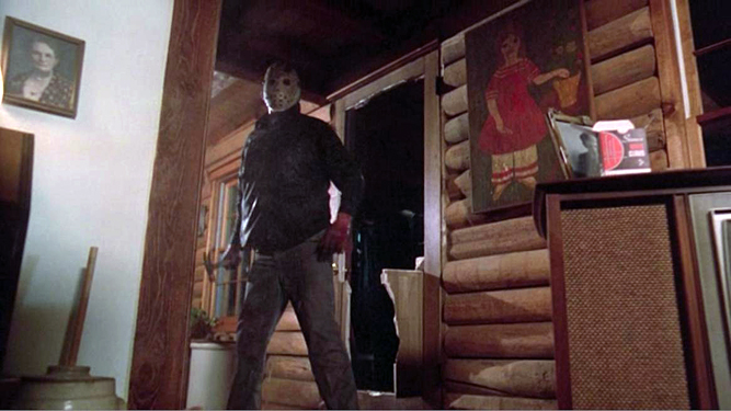 Movie comparisons friday the 13th parts 1 4 vs friday for 13th door